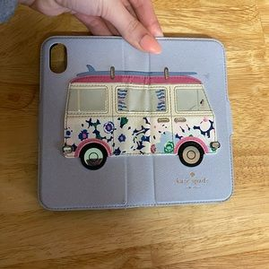Kate Spade Hippie Van Bus 🌈 IPhone X case